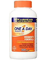 One A Day Women's Formula Multivitamin for under 50 age, 300 Tablets