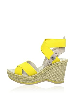 Replay Keil-Sandalette She (Gelb)