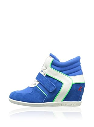 Replay Mädchen Sneaker Fleet (Royalblau)