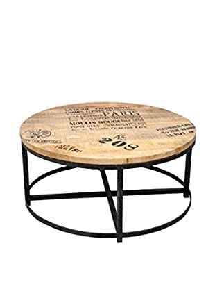 Montmartre Coffee Table, Tan/Black