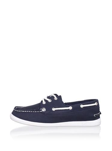Nautica Hyannis Boat Shoe (Toddler/Little Kid/Big Kid) (Navy)