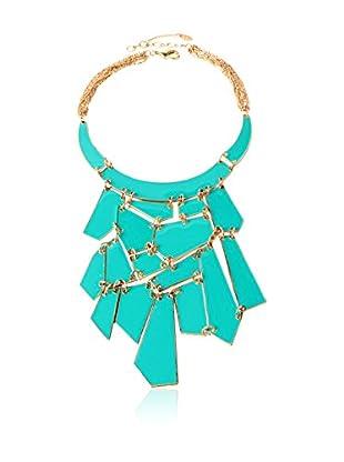 Amrita Singh Collar Geometric Enamel Bib