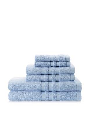 Terry Towels 6-Piece Towel Set, Sky