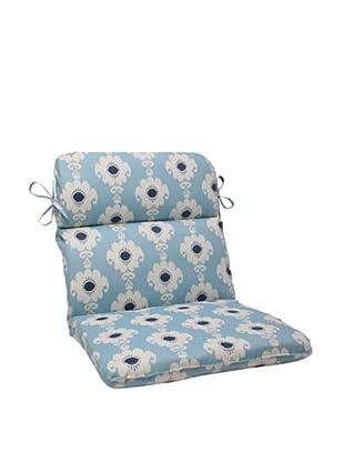 Waverly Sun-n-Shade Rise and Shine Pool Chair Cushion (Navy/Aqua/Cream)
