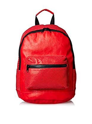 Nila Anthony Women's Star Perforated Backpack, Red