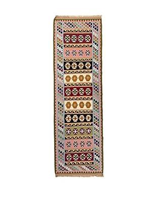 RugSense Alfombra Kilim Kashkai Marrón/Multicolor