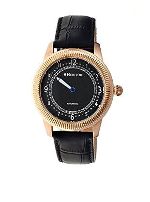 Heritor Automatic Uhr Hoyt Herhr2406 schwarz 49  mm