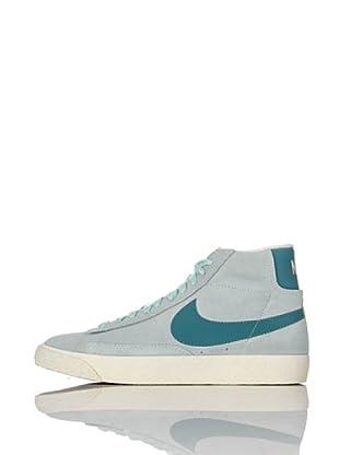 Nike Zapatillas Wmns Blazer Low Suede (Vntg) (Azul Grisáceo)
