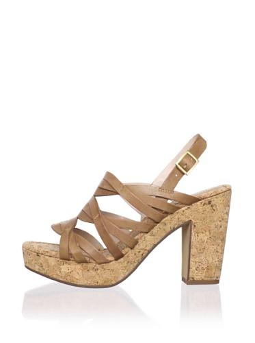 Rosegold Women's Tacey Slingback Sandal (Sand)
