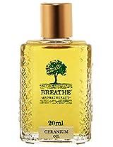 Breathe Aromatherapy Geranium Oil 20 Ml