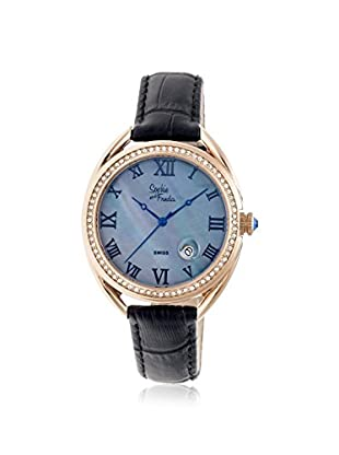 Sophie and Freda Women's SF2904 Austin Black Leather Watch