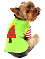 Anit Accessories 8-Inch Christmas Tree Shirt Dog Costume, X-Small