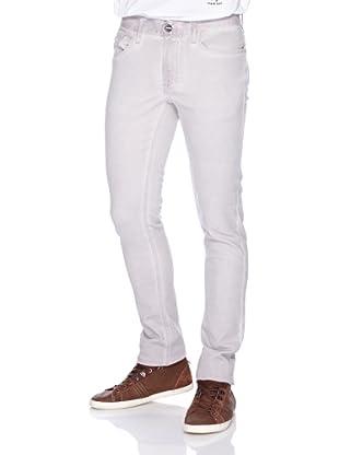 ANALOG Pantalón 5-Pocket-Stil (Blanco)
