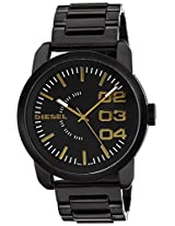 Diesel End of Season Analog Black Dial Men's Watch - DZ1566