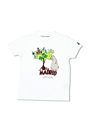 National Geographic T-Shirt Madrid (Bianco)