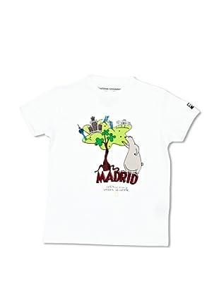 National Geographic Camiseta Madrid (Blanco)