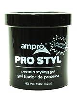 Ampro 15 oz. Pro-Styl Protein Gel Super Jar (Case of 6)