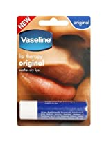 Vaseline Original Lip Therapy, 4g (Pack of 2)