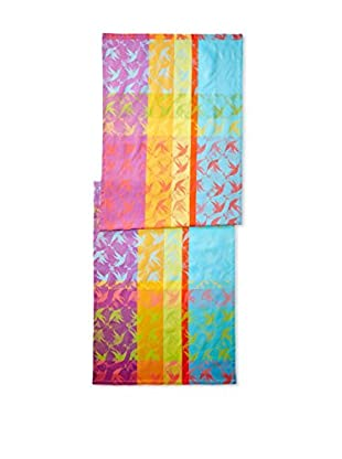 Garnier-Thiebaut Mille Colibris Table Runner, Antilles