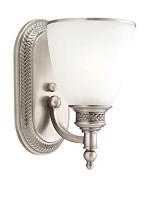 Sea Gull Lighting 1-Light Wall Sconce (Antique Brushed Nickel)