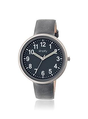Simplify Multi Women's SIM2604 The 2600 Grey Leather Watch