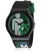 Tees Nd9915Pp15J Black/Green Analog Watch Fastrack