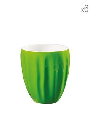 Guzzini Set 6 Mug Aqua Verde