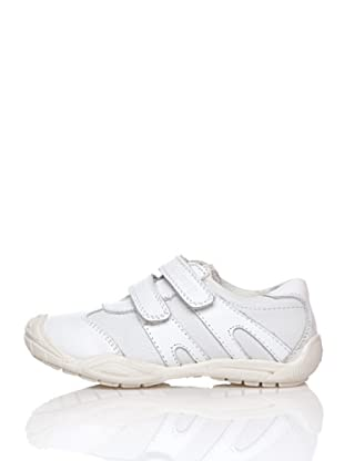Billowy Zapatillas Lisas Velcros (Blanco)