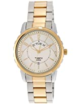 Timex Empera Analog White Dial Men's Watch - TI000E31800