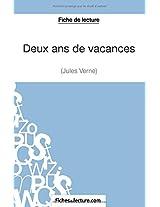 Deux ans de vacances de Jules Verne (Fiche de lecture): Analyse Complète De L'oeuvre