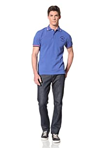 Moods of Norway Men's Per Are Polo (Electric Blue)