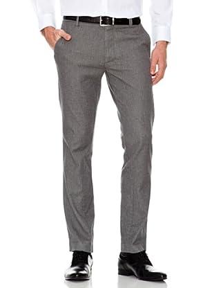 Dockers Pantalón Ajustado con Costuras en el Bajo (gris)