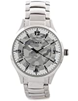 Timex Analog Watch - For Men Silver-TI000T30100