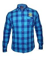Spykar Men's Blue Shirt