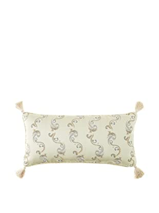 Waterford Linens Kerrigan Decorative Pillow, Cream/Taupe, 12