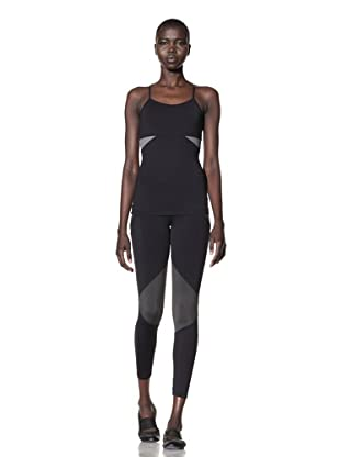 David Lerner Women's Sport Top (Black/Grey)