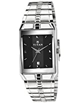 Titan Karishma Black Dial Men's Analog Watch - 9151SM02A