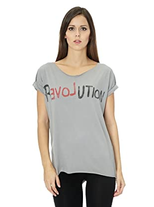 Free for Humanity T-Shirt Revolution (Grau)