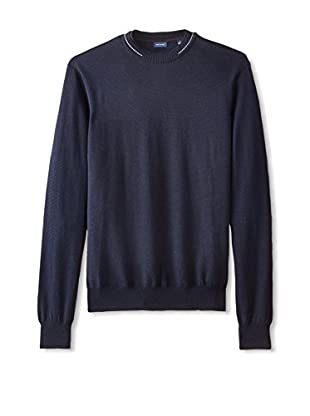 Thirty Five Kent Men's Double Collar Crew Neck