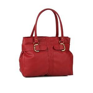 Alessia74 Maroon Handbag