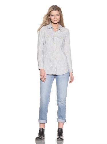 Earnest Sewn Women's Shirt Jacket (Harbor)