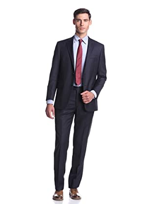 Hickey Freeman Men's Pinstripe Suit (Navy)