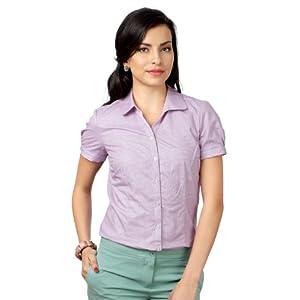 Allen Solly Women Regular Fit Shirt_AWTS314R04530_ L