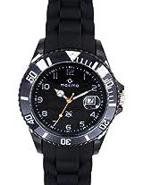 Maxima Fiber Analog Silver Dial Men's Watch - 31850PPGN