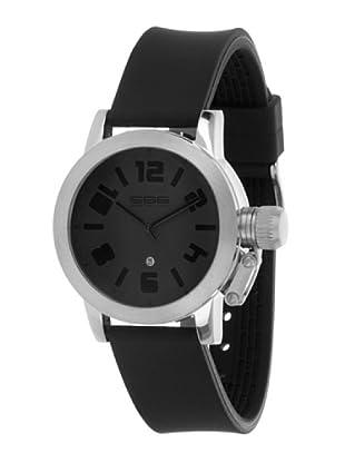 666 Barcelona  Reloj Flask Black