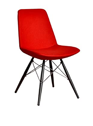 Aeon Furniture Paris 5 Side Chair, Set of 2, Red