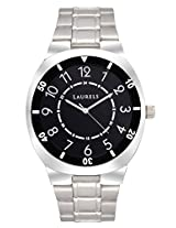 Laurels Polo 3 Analog Black Dial Men's Watch ( Lo-Polo-302)