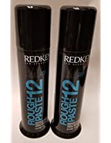Redken Rough Paste 12 Working Material 2.5 Oz. Medium Control Set Of 2