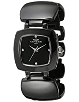 Oniss Paris Women's ON8050-LBL/New Beauty Collection Analog Display Swiss Quartz Black Watch
