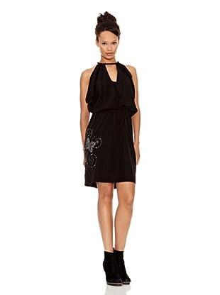 Desigual Vestido Lilah (Negro Estampado)